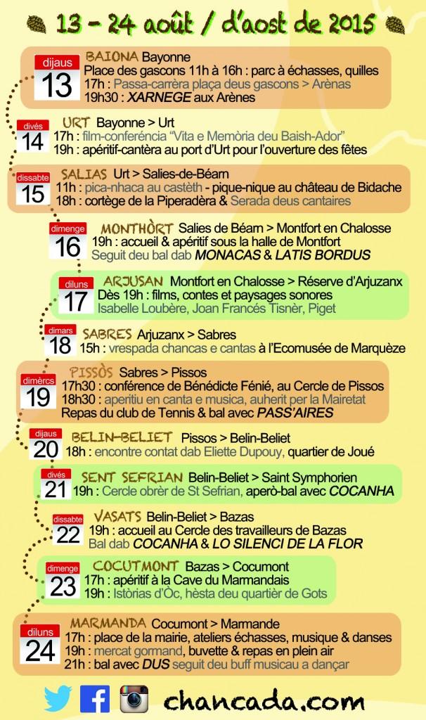 Flyer Chancada 2015